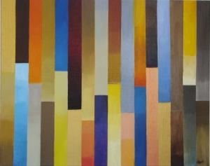 Colors : Huile sur toile : 50 x 40 cm (2014)